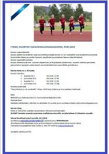 Nuorten yleisurheiluohjaajakurssi Porissa 29.3. alkaen